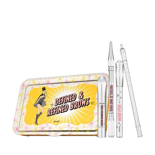 Closeup   brow collection defined kit closed with products no reflection cmyk