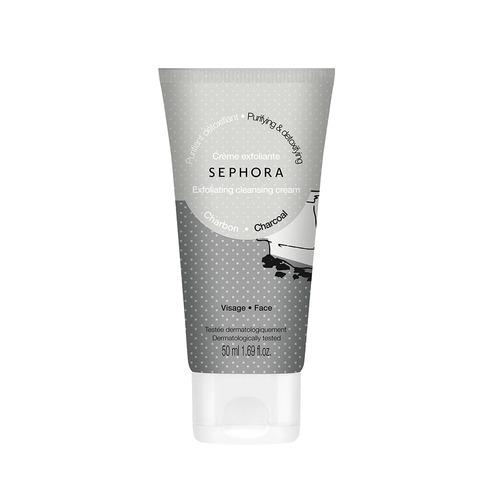 Charcoal Exfoliating Cream