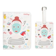 Beauty Pass Exclusive   Passport Holder And Lugage Tag
